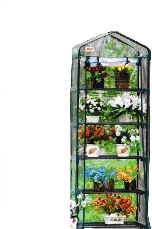 Green Garden 5 Tier Mini Hot House W Shelves Greenhouse GH005