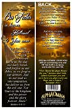 Alpha & Omega Christian Bookmarks The Lord's