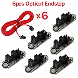 MakerHawk 6pcs Optical Endstop with 1M Cable