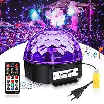 6 Motifs Jeu De Noire Disco 7 Spot Musique Grande Haut Lampe ScèneSolmore Lecture Projecteur Dj Lumière Boule Uv Parleur Led I6Ybgvyf7