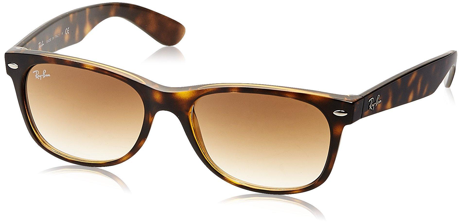 6baeebc111e Ray-ban Rb2132 New Wayfarer Sunglasses Amazon