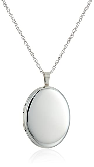 Amazon sterling silver large polished oval locket necklace 20 amazon sterling silver large polished oval locket necklace 20 jewelry mozeypictures Gallery