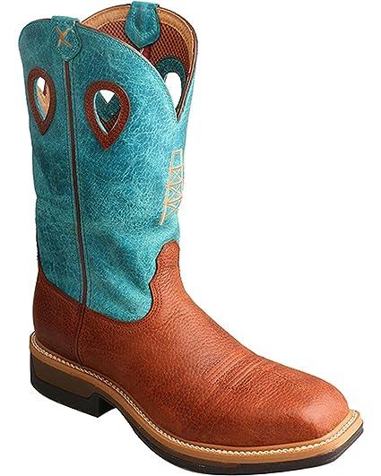 80a20389f6b Amazon.com: Twisted X Men's Lite Cowboy Work Boot TWX Steel Toe ...