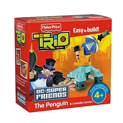 Fisher-Price TRIO DC Super Friends - Penguin: Toys & Games