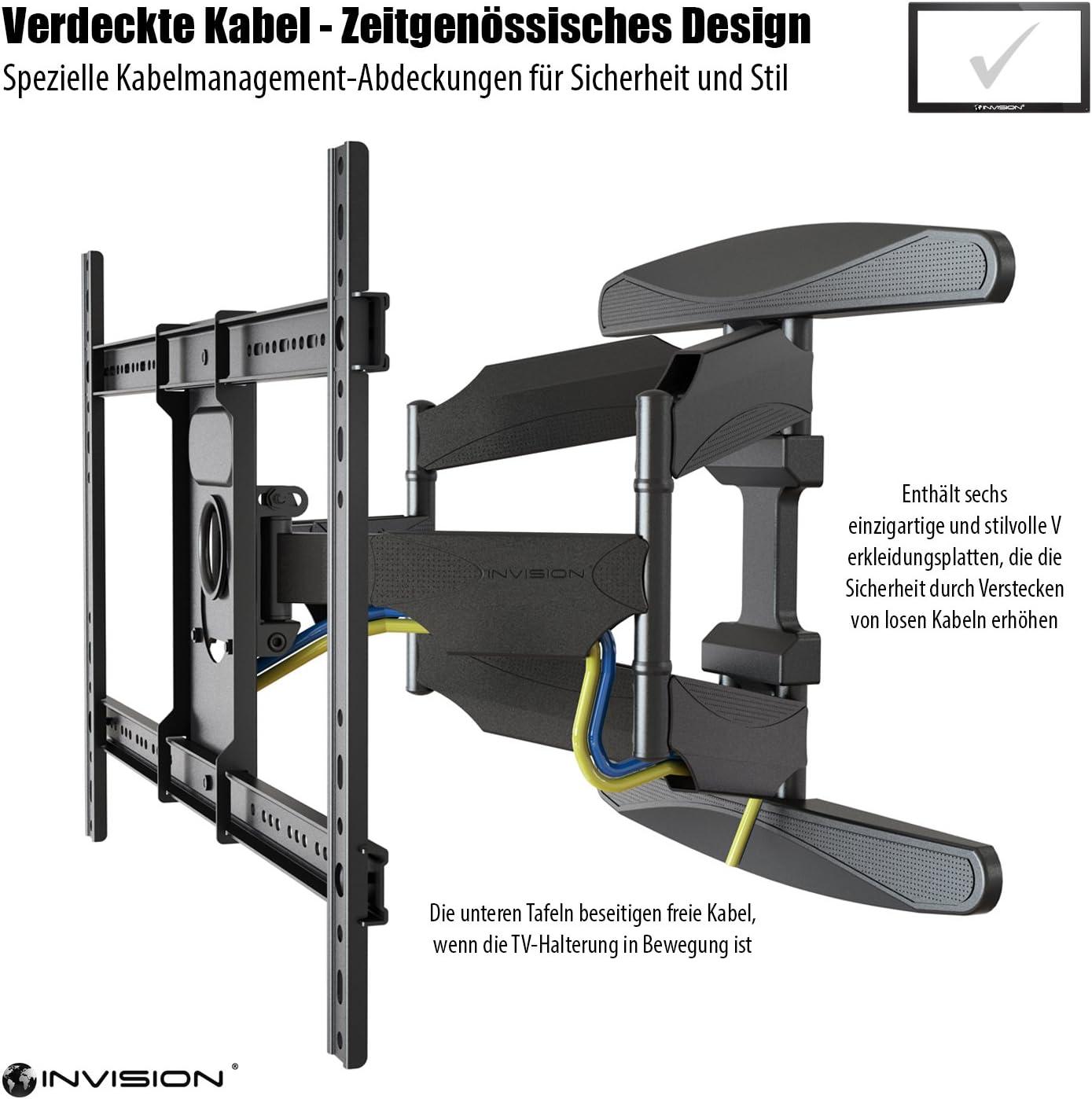 Soporte de pared para TV Invision®: Amazon.es: Electrónica