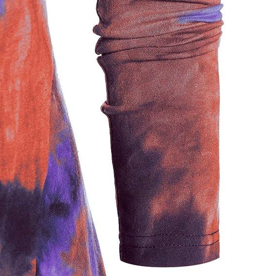 FEDULK - Túnica de Vestir con Capucha para Mujer, Estilo Vintage ...