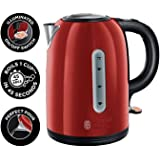 Russell Hobbs 20445 Westminster Kettle, 1.7 Litre, Red, 1.7 liters