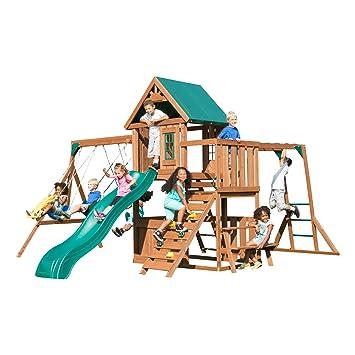 Amazon Com Swing N Slide Ws 8351 Knightsbridge Plus Swing Set With