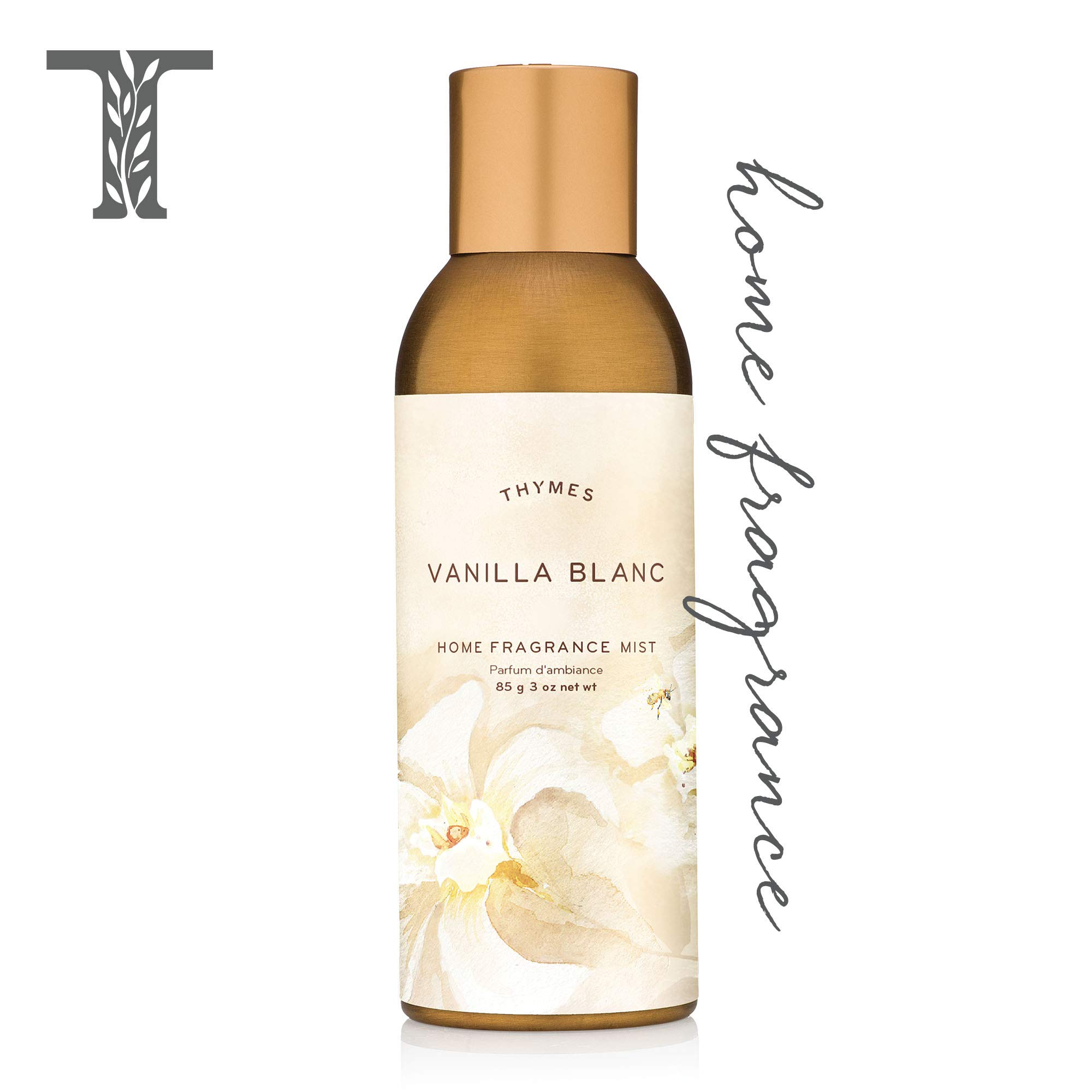 Thymes Vanilla Blanc Home Fragrance Mist, 3.0 oz by Thymes
