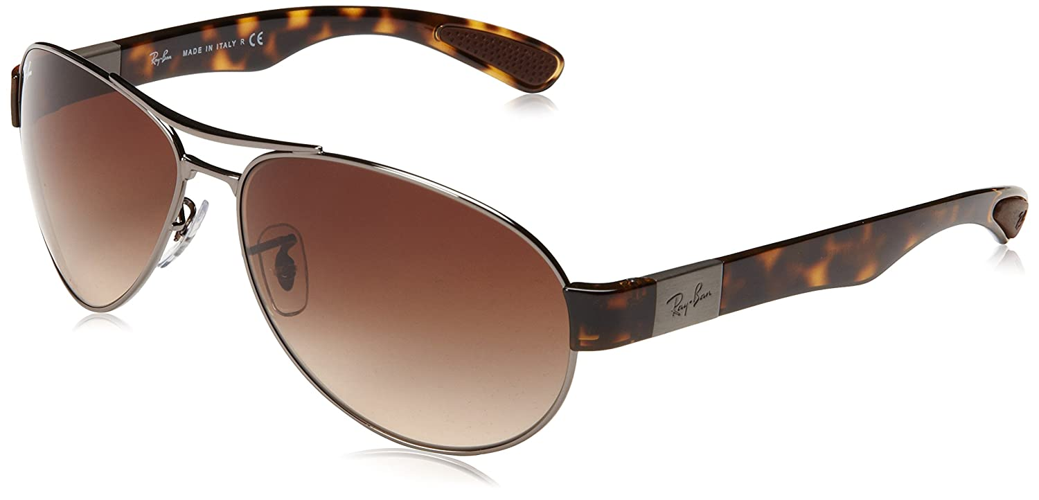 Ray Ban RB3509 Gunmetal / Brown Gradient