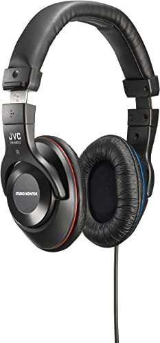 JVC Victor Studio Monitor Headphones HA-MX10-B Japanese Import