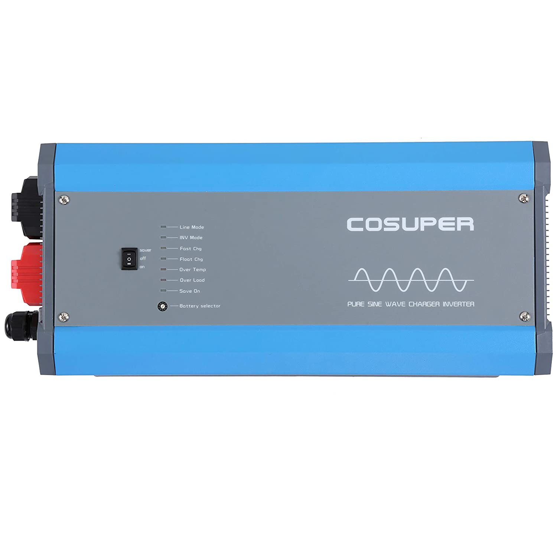 Soyond 3000w Inverter Charger Dc 12v To Ac 120v Pure True Sine Idea Wave Power 9000w Surge Automotive
