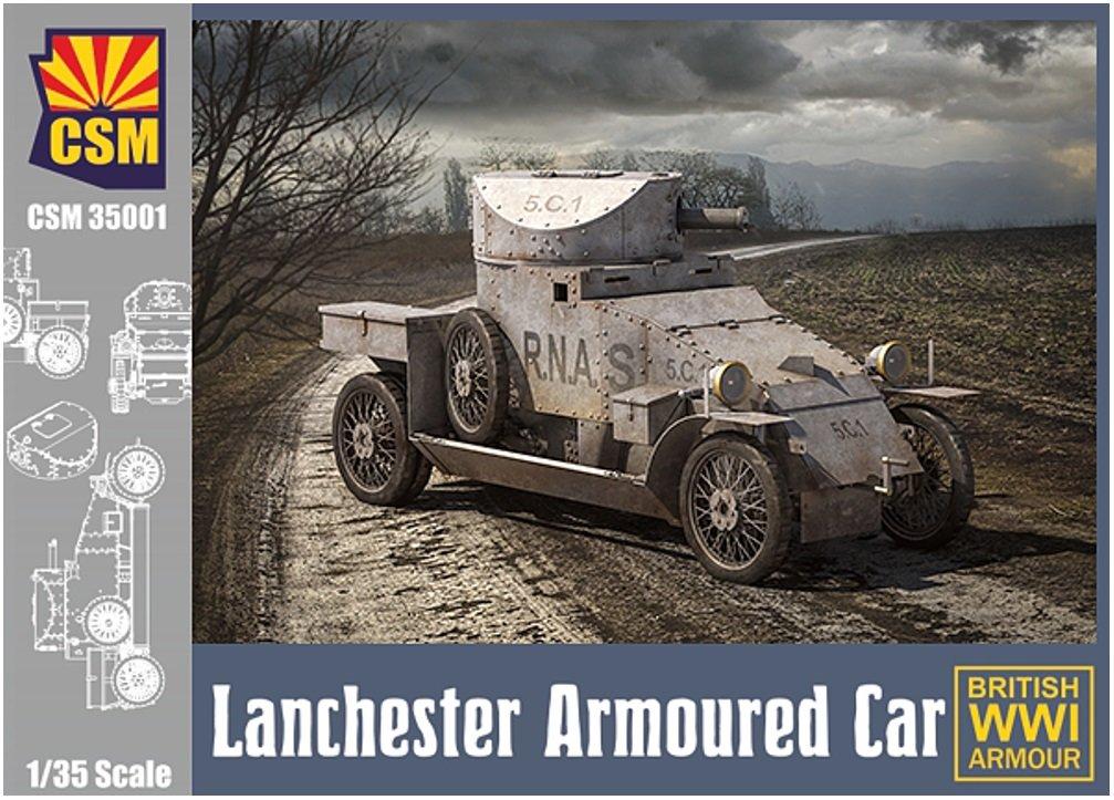 コッパーステートモデル 1/35 イギリス海軍 ランチェスター 4×2装甲車 プラモデル COP35001 B0785DC87S