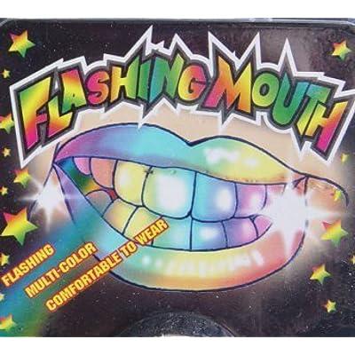 Set of 12-Flashing Mouth Piece: Toys & Games