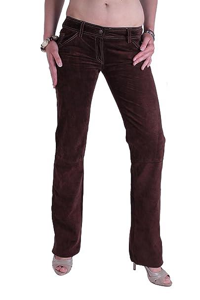 Dolce & Gabbana Mujer Pantalones Vaqueros Cuir (Marrón, ES ...