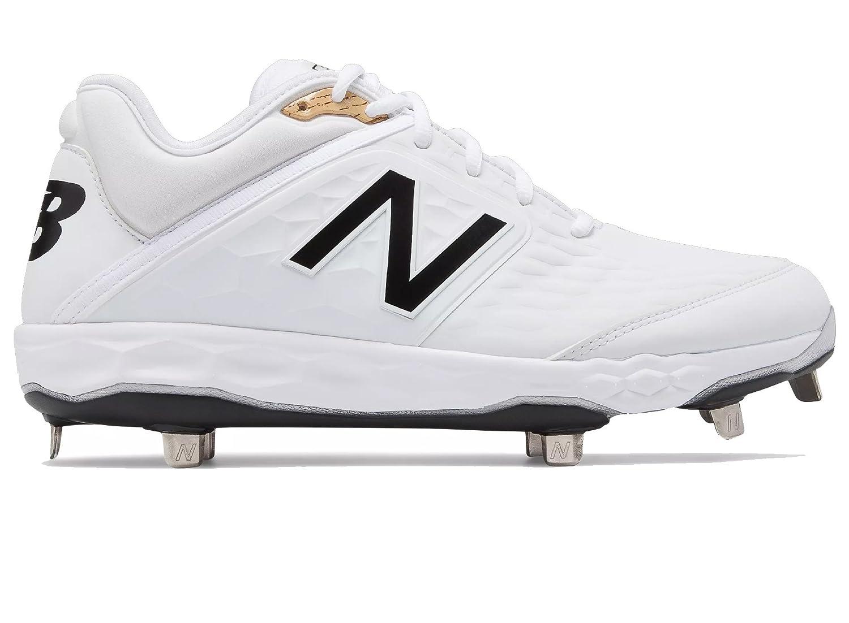 New Balance Men's 3000v4 Metal Baseball Shoe B075R6Z1WF 13 D(M) US|White