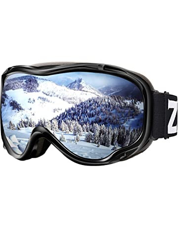 8a3da83fdb6 Zionor Lagopus Ski Snowboard Goggles UV Protection Anti-Fog Snow Goggles  for Men Women Youth