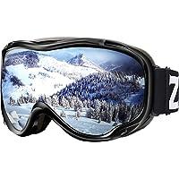 c3ba5dec4f9e Zionor Lagopus Ski Snowboard Goggles UV Protection Anti-Fog Snow Goggles  for Men Women Youth