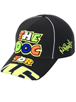 Gorra Negro The Doctor Valentino Rossi Oficial VR46