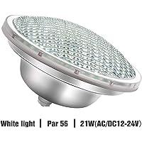 Roleadro 21w Blanco Par56 Led para Piscina Iluminacion
