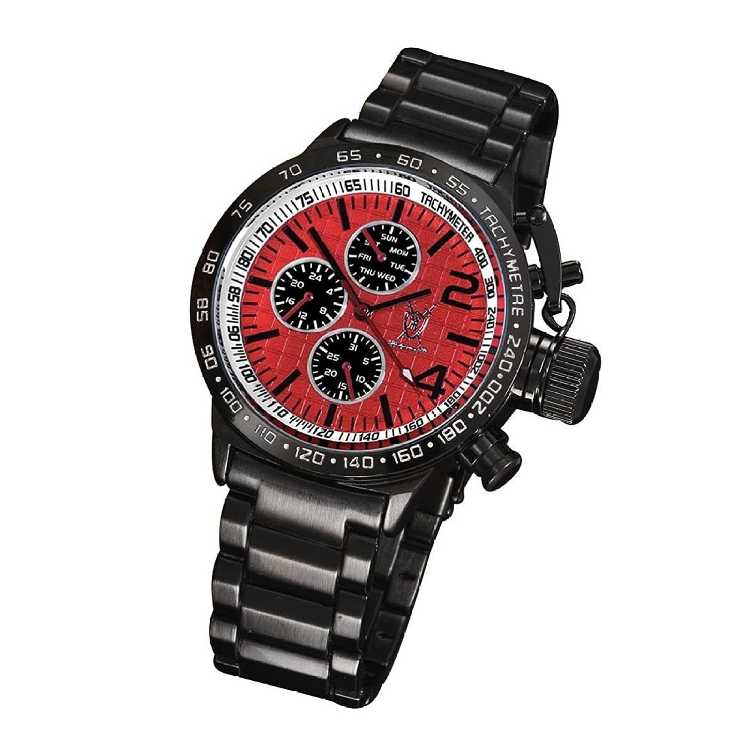 watch dial armani s red chronograph exchange men mens watches