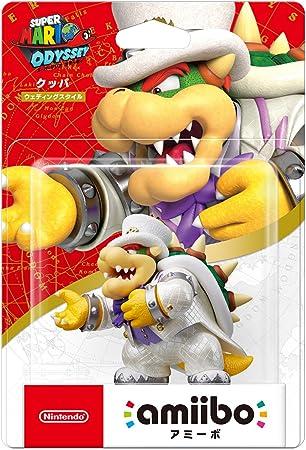 Nintendo Amiibo Bowser Púrpura, Color Blanco, Amarillo - Figuras ...