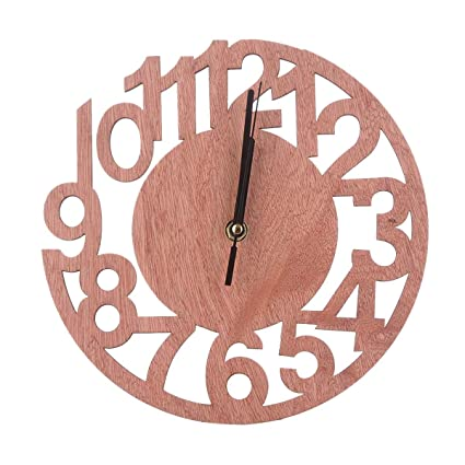 Photo Frame Black Modern Home Decor Living Room Decoration FTVOGUE DIY Frame Clock 2 in 1 Plastic Wall Clock