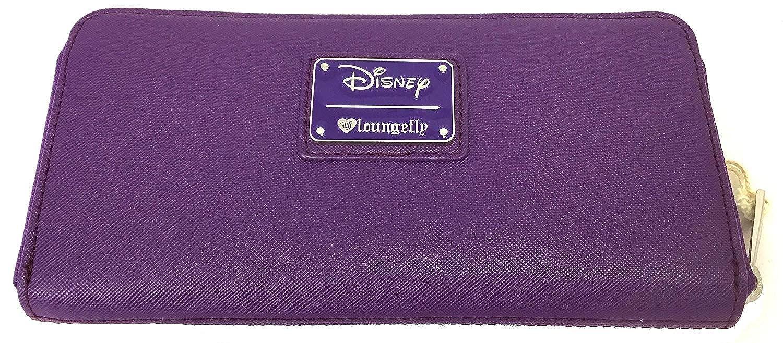00497fa88c5 Loungefly x Disney Sleeping Beauty Maleficent Debossed Zip-Around Wallet  (Lavender