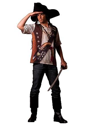 César B800-006 - Camiseta efecto disfraz de pirata, talla 62 ...