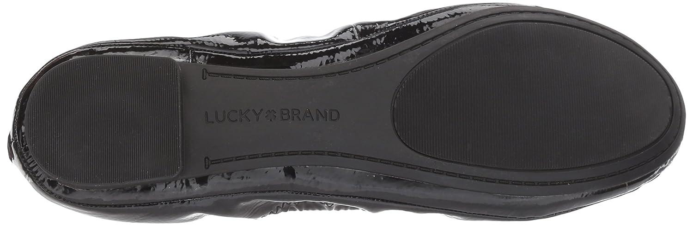 Lucky Brand Women's Lucky Emmie Ballet Flat B071RDJ6PP 7 M US|Black Mirror