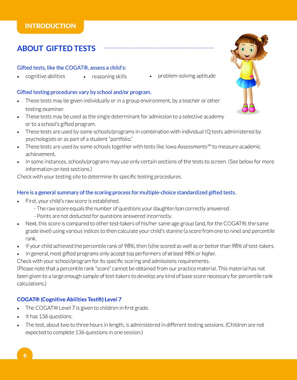 Amazon.com: Gifted and Talented COGAT Test Prep: Gifted Test Prep ...
