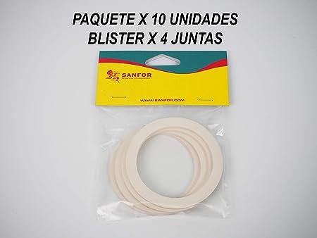 Sanfor 4 x Junta Cafetera O.L. De 2 tazas, Caucho: Amazon.es: Hogar