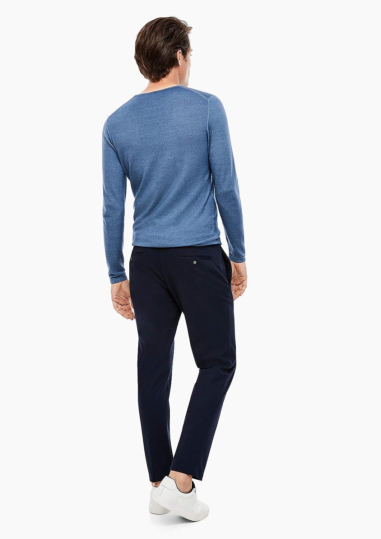 s.Oliver BLACK LABEL Herren Slim Jogg Suit-Hose dark blue 94