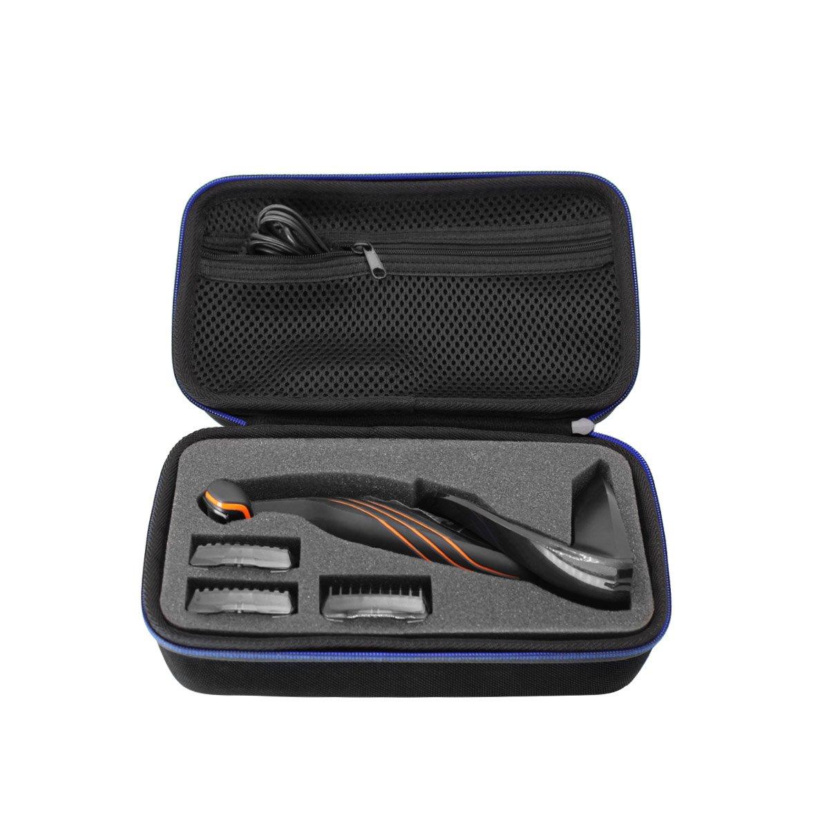 Hard Travel Case Bag for Philips Norelco BG2036/32 BG2034/42 Bodygroomer, Series 3000 by GUBEE