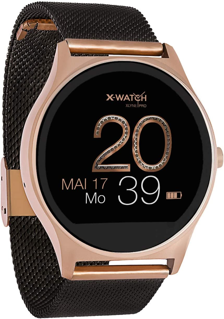 Joli XW Pro - Smartwatch para Mujer, Color Oro Rosa, Reloj Inteligente iOS, podómetro, Reloj para Mujer: Amazon.es: Electrónica