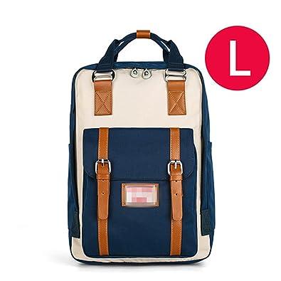 94da2a3ea73a Amazon.com: Jeff Tribble Patchwork Backpack Women Large Capacity ...