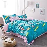4 pieces gas bubble bursts bedding sets duvet cover set queen
