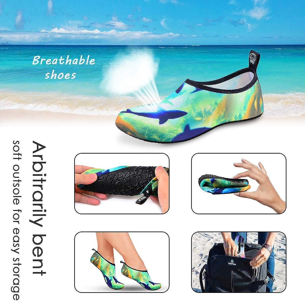 DigiHero zapatos de agua para mujeres y hombres surf calcetines de secado r/ápido nataci/ón para playa ejercicio yoga