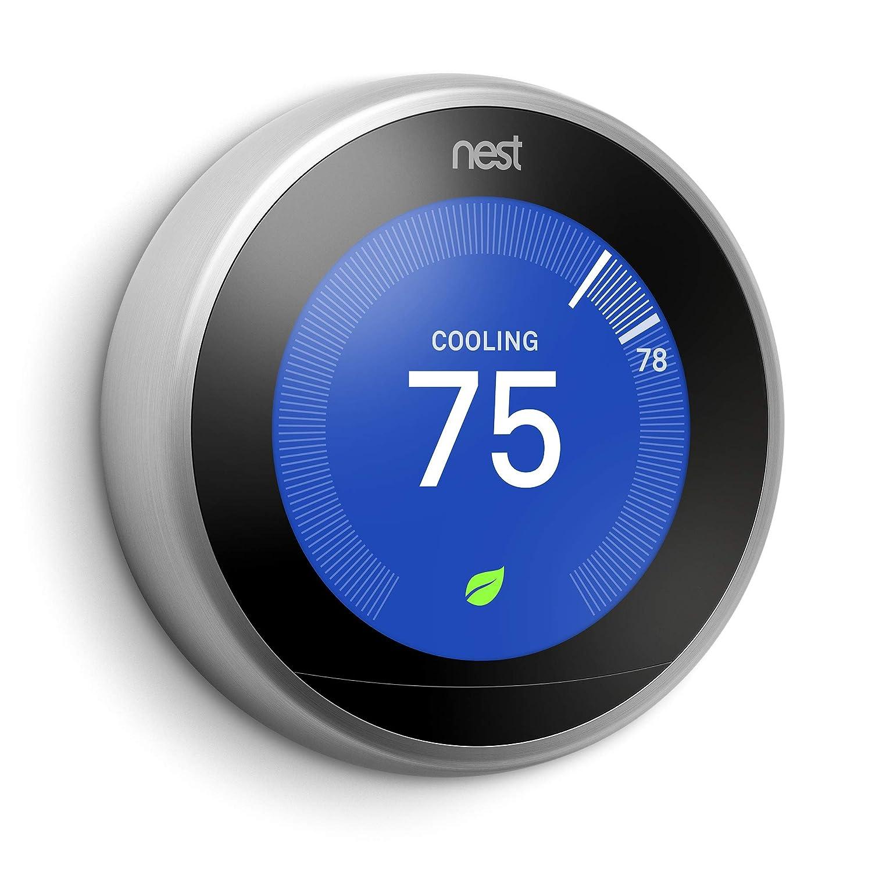 Nest Thermostat de l/'apprentissage la 3/ème g/én/ération de