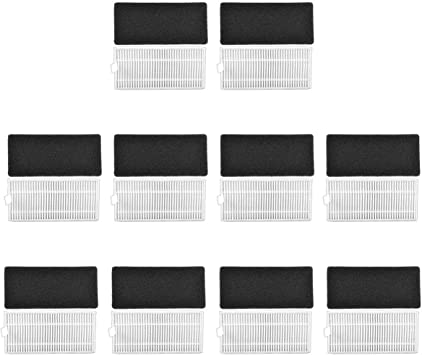 KEEPOW 20 Pcs Filtros de Repuesto para Conga Excellence 990 ...