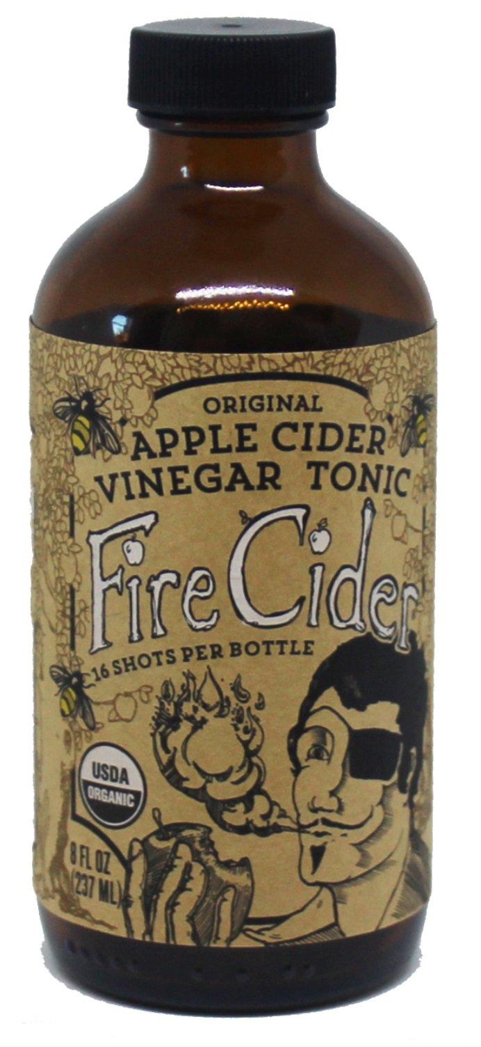 Amazon fire cider apple cider vinegar and honey tonic fire cider apple cider vinegar and honey tonic original flavor 8 oz malvernweather Image collections