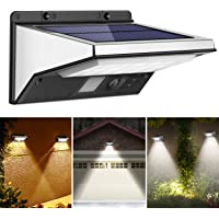 OUSFOT Luz Solar Exterior LED Foco Solar Exterior