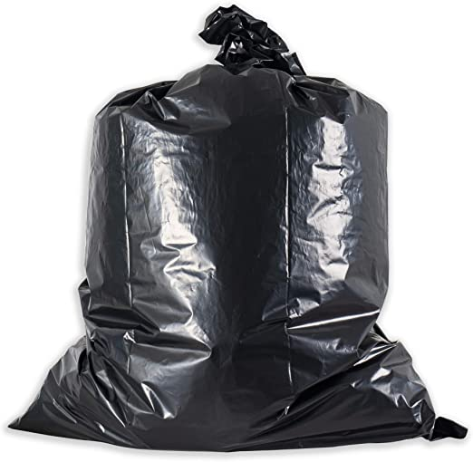 """20 PACK HEAVY DUTY CONTRACTOR TRASH GARBAGE BAGS 32"""" x 46"""" 42 Gallon 3MIL"""