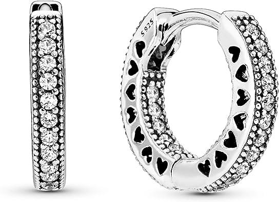 Comprar Pandora Pendientes de aro Mujer plata - 296317CZ