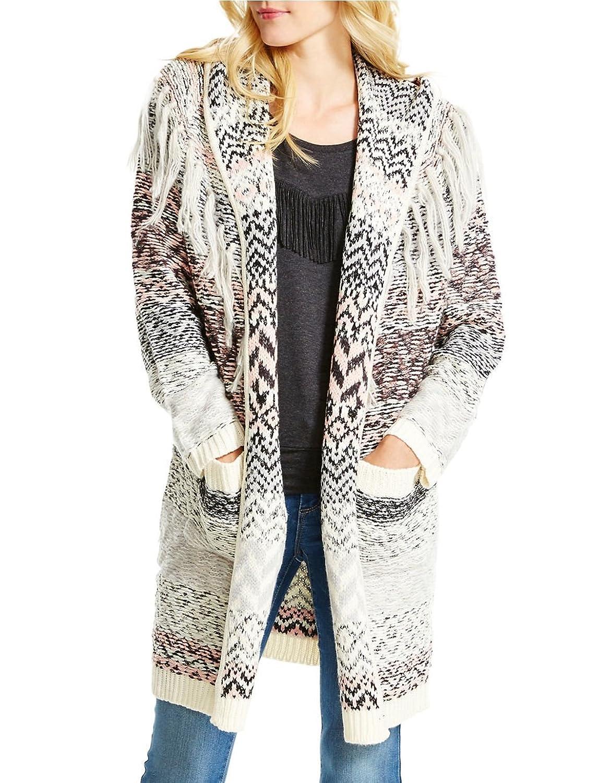 Jessica Simpson Women's Thistle Cardigan Sweater, Antique White