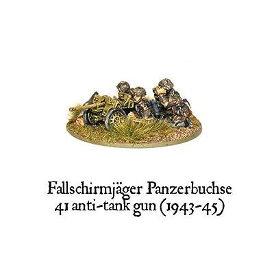 German Airborne - Fallschirmjager Panzerbuche 41 Anti-tank Gun: Toys & Games