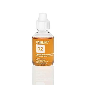 HAIRMED - Pre shampoo per capelli professionale senza siliconi e parabeni  (Dermopurificante Capelli Grassi D2-100ml)  Amazon.it  Bellezza b76d7ad35153