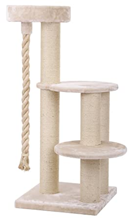 Arbre à chat Maine Coon 4 - Beige  Amazon.fr  Animalerie 2b869b284929