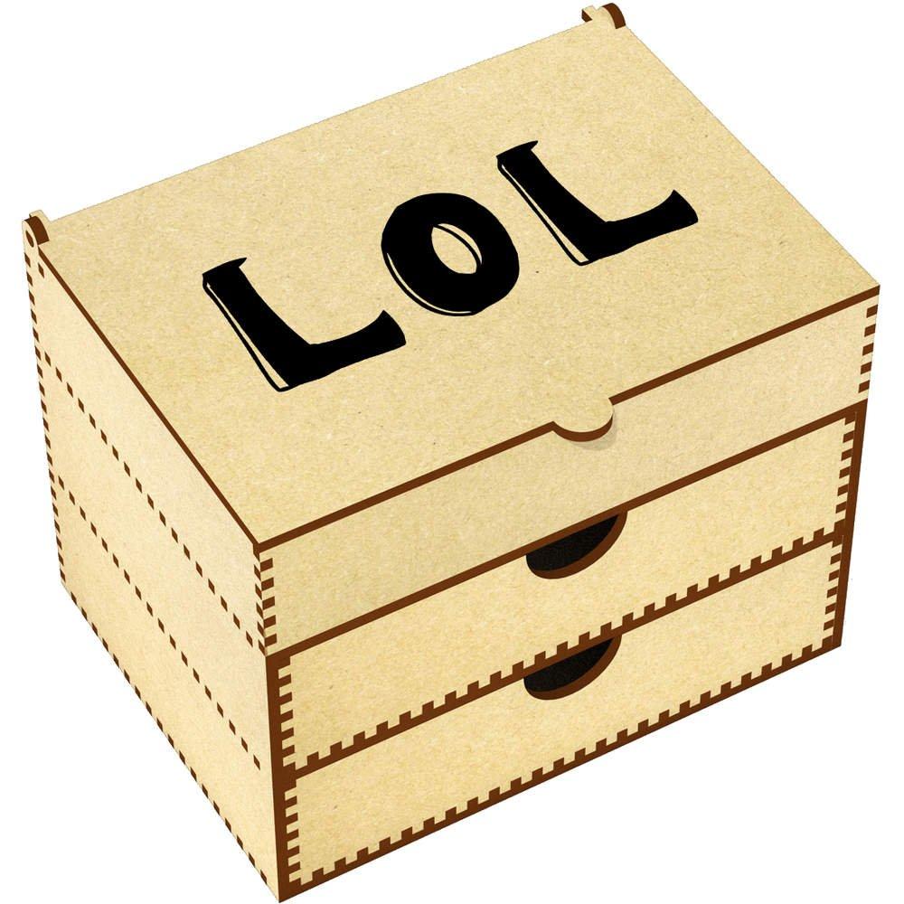 Azeeda 'LOL' Vanity Case / Makeup Box (VC00008697)