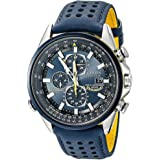 Citizen Mens Blue Angels World Chronograph Atomic Timekeeping Watch